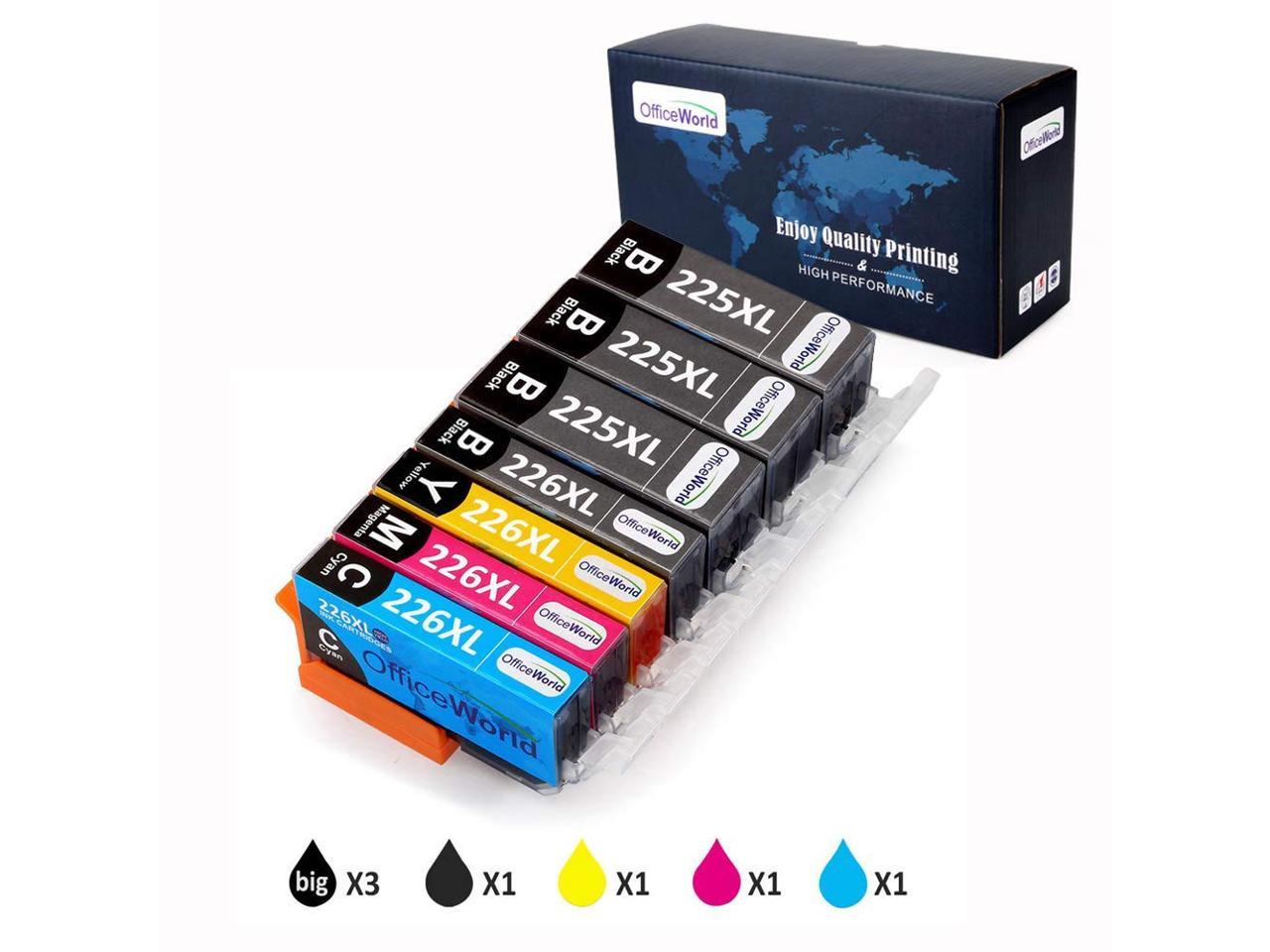 8190A007 2//PK-185 Page Yield BCI-15BK SuppliesMAX Compatible Replacement for Canon i70//i80//PIXUS 50i//80i//IP-90V Black Inkjet