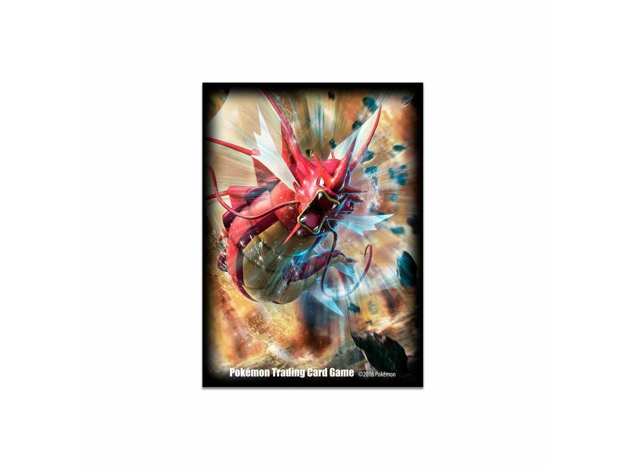 Ultra Pro POKEMON Shiny Mega Gyarados DECK PROTECTOR Card Sleeves 65ct Standard