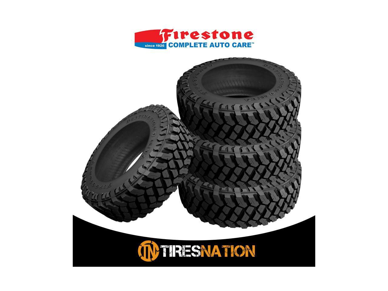 Firestone Destination M//T2 Max Traction Tire LT285//65R18 125 Q E