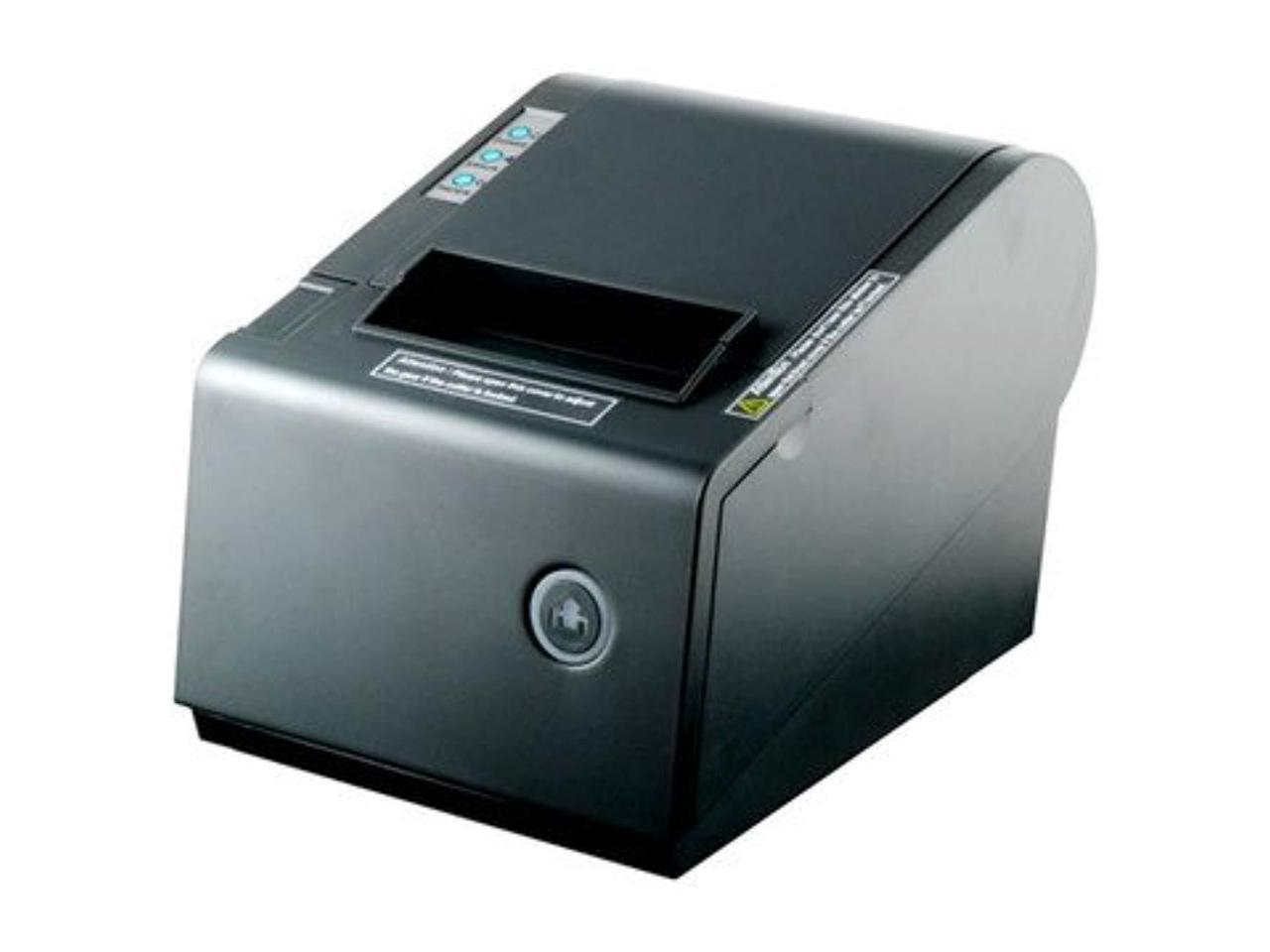 supports ESC//POS Star Commands AUTO CUT POS P-822D 3 1//8 Thermal Receipt USB Printer compatible with EPSON Star Micronics