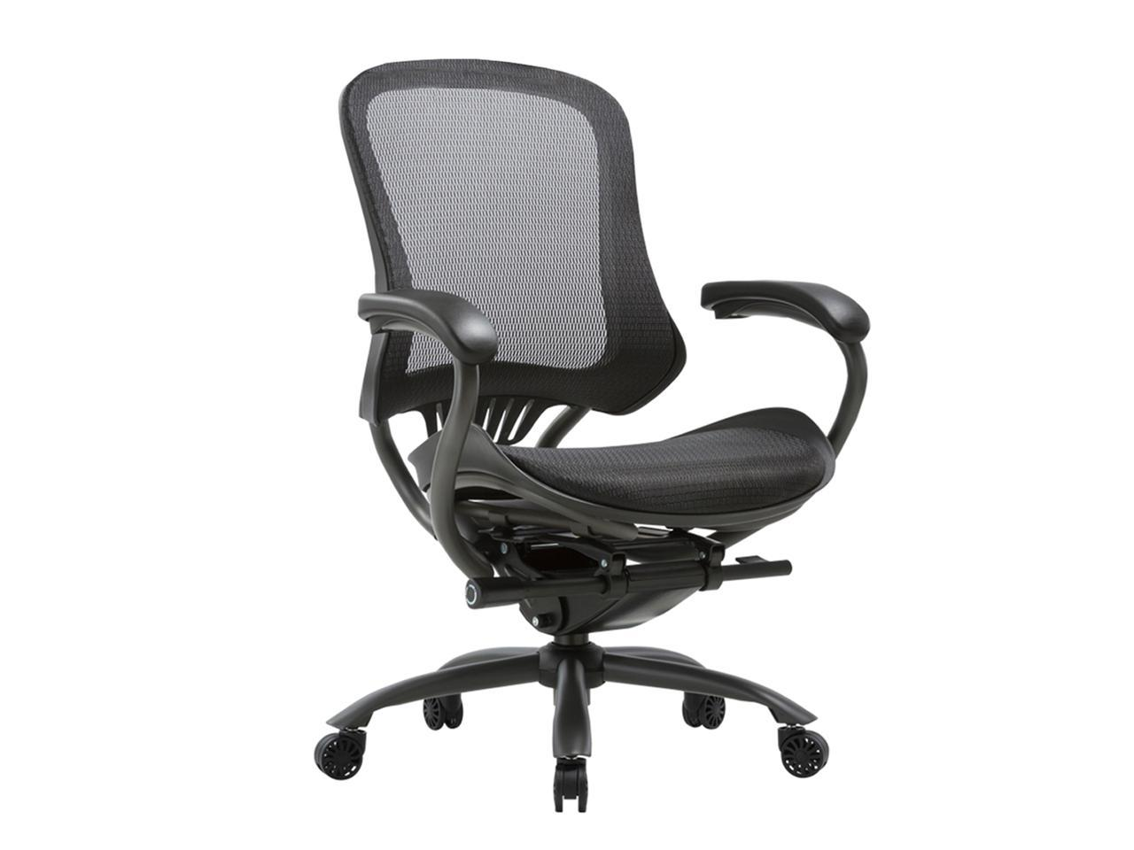 Ergonomic Office Dask Chair High Back Executive Home Office Desk Chair with Arms Adjustable Height Back Lumbar Support Mesh Heavy Duty