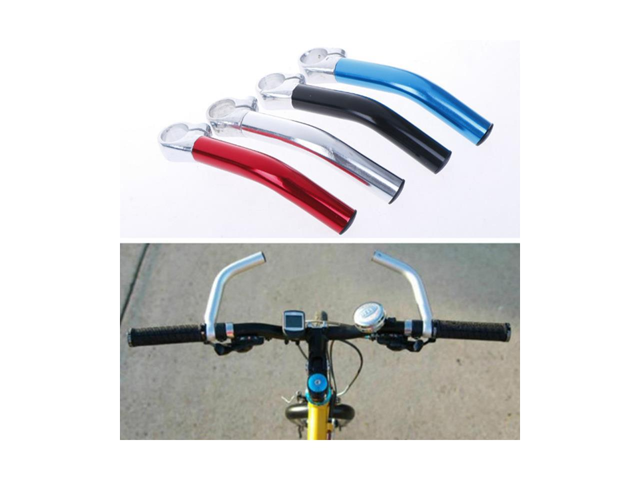 1 Pair Mountain Bicycle Handlebar Bike Auxiliary Rest Hand Grip Aluminum Alloy