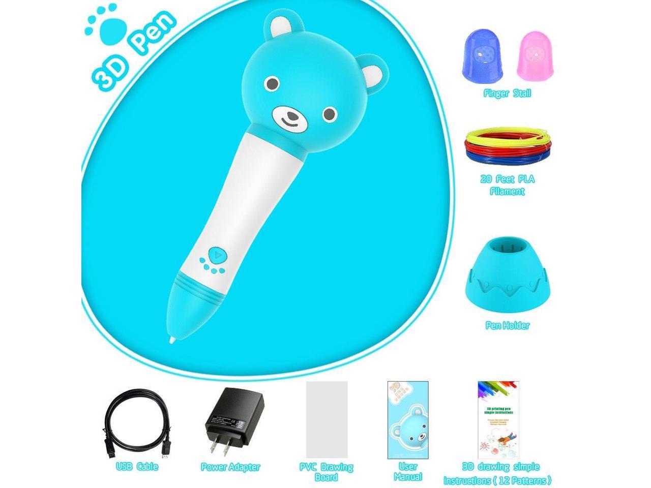 3D Printer Pen 3D Color Picker Pen 3 Sets Consume Material