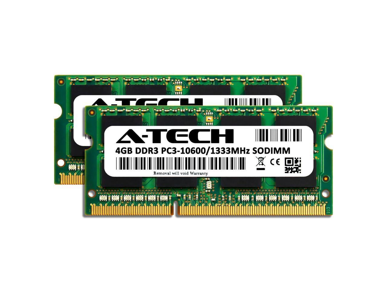 PARTS-QUICK Brand Memory Upgrade for Compaq Presario CQ5307SC PC3-10600 DDR3 1333 MHz DIMM Non-ECC Desktop RAM 2 X 2GB 4GB Kit