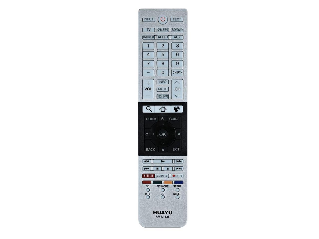RM-Series TV Remote Control for Toshiba CT-8023