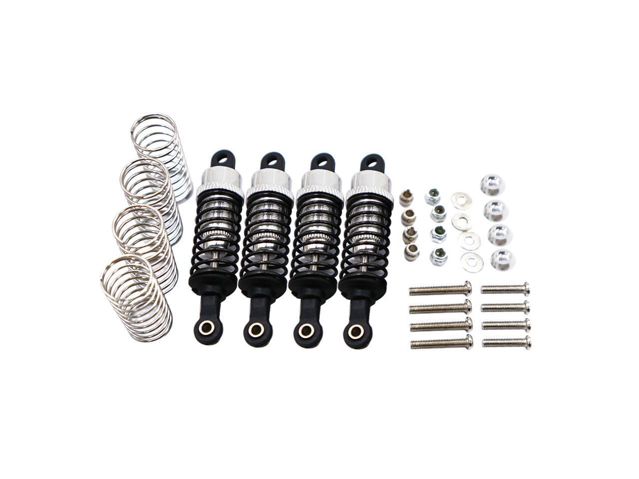 2pcs Aluminum 95mm Shock Absorber Damper for HSP 94111 94111PRO 94108 94188