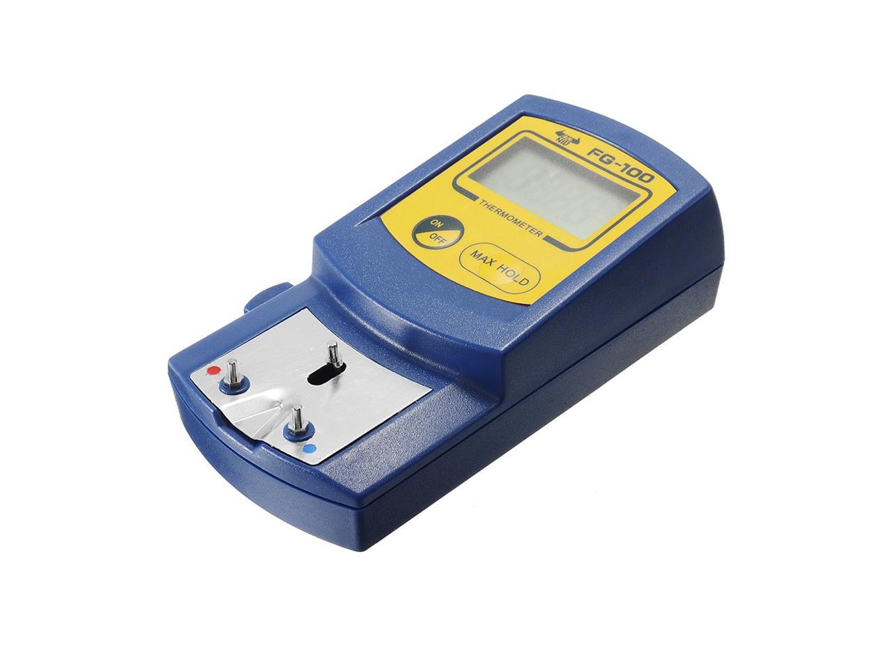 LCD FG-100 Display Soldering Iron Tip Thermometer Temperature Tester 0-700℃