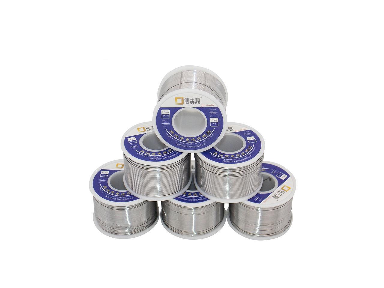 Soldering wire Sn63Pb37 1mm 250g lead-based Package reel 1 pcs