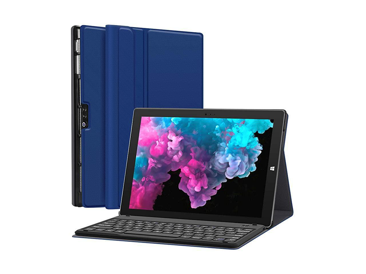 Fintie Microsoft Surface Pro 7 Type Cover, [7-Color