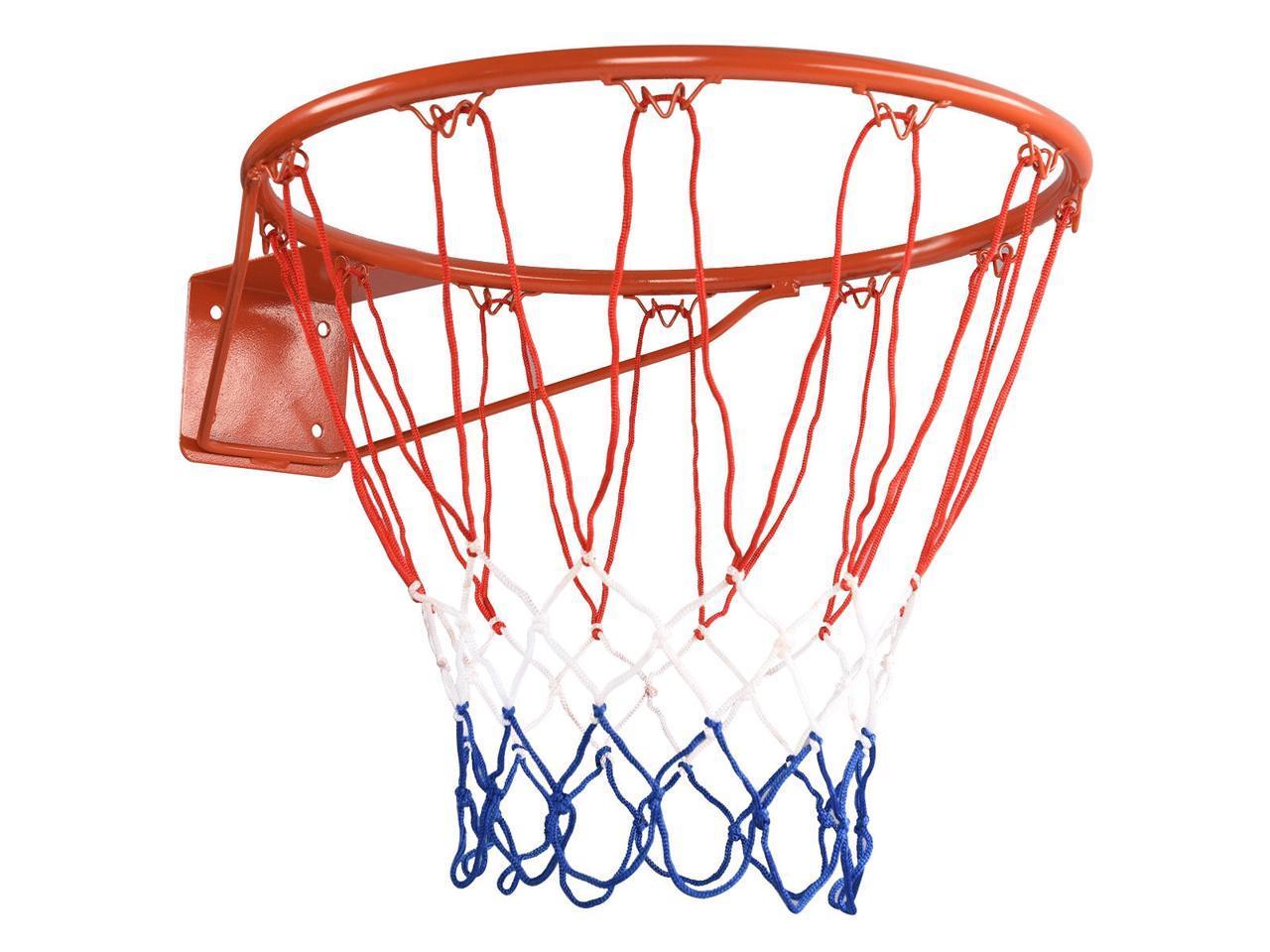 Basketball Ring Hoop Net Wall Mounted Outdoor Hanging Basket Professional US