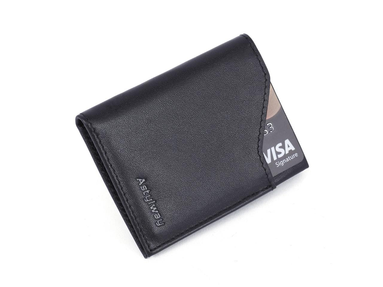 LAN Free shipment genuine leather men/'s leather wallet ultra thin small wallet