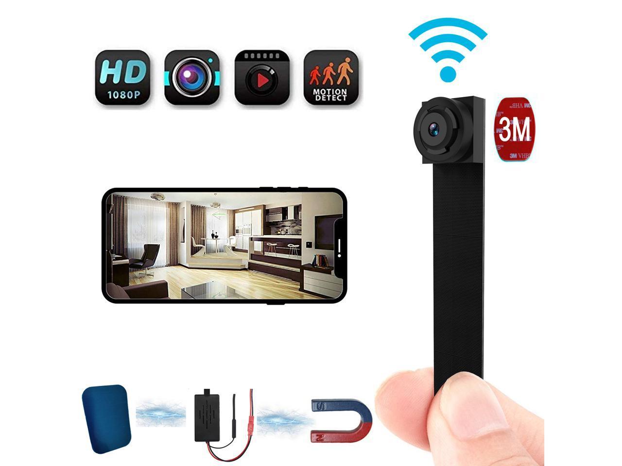 Mini Wifi Button Camera Remote Control 4K Full HD DIY IP