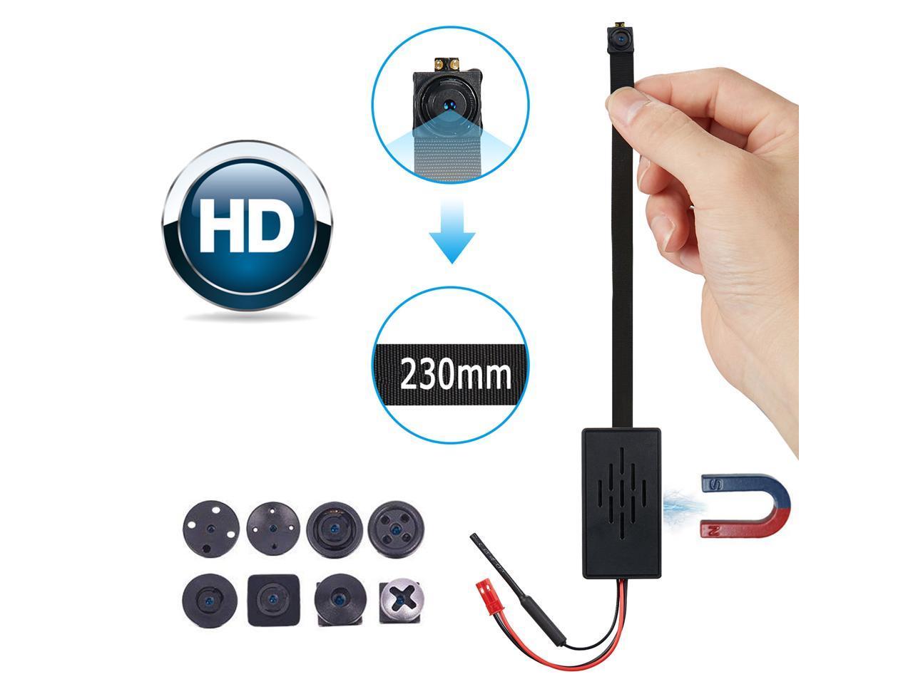 COMBO 4K Spy Wi-Fi 1080P HD Module P2P Hidden Button