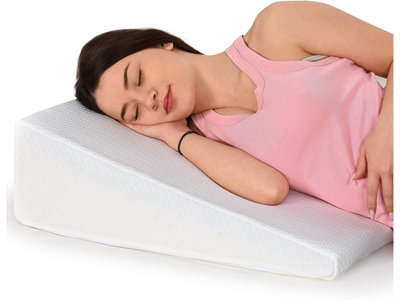 Relax Home Goods 8 Inch Wedge Pillow