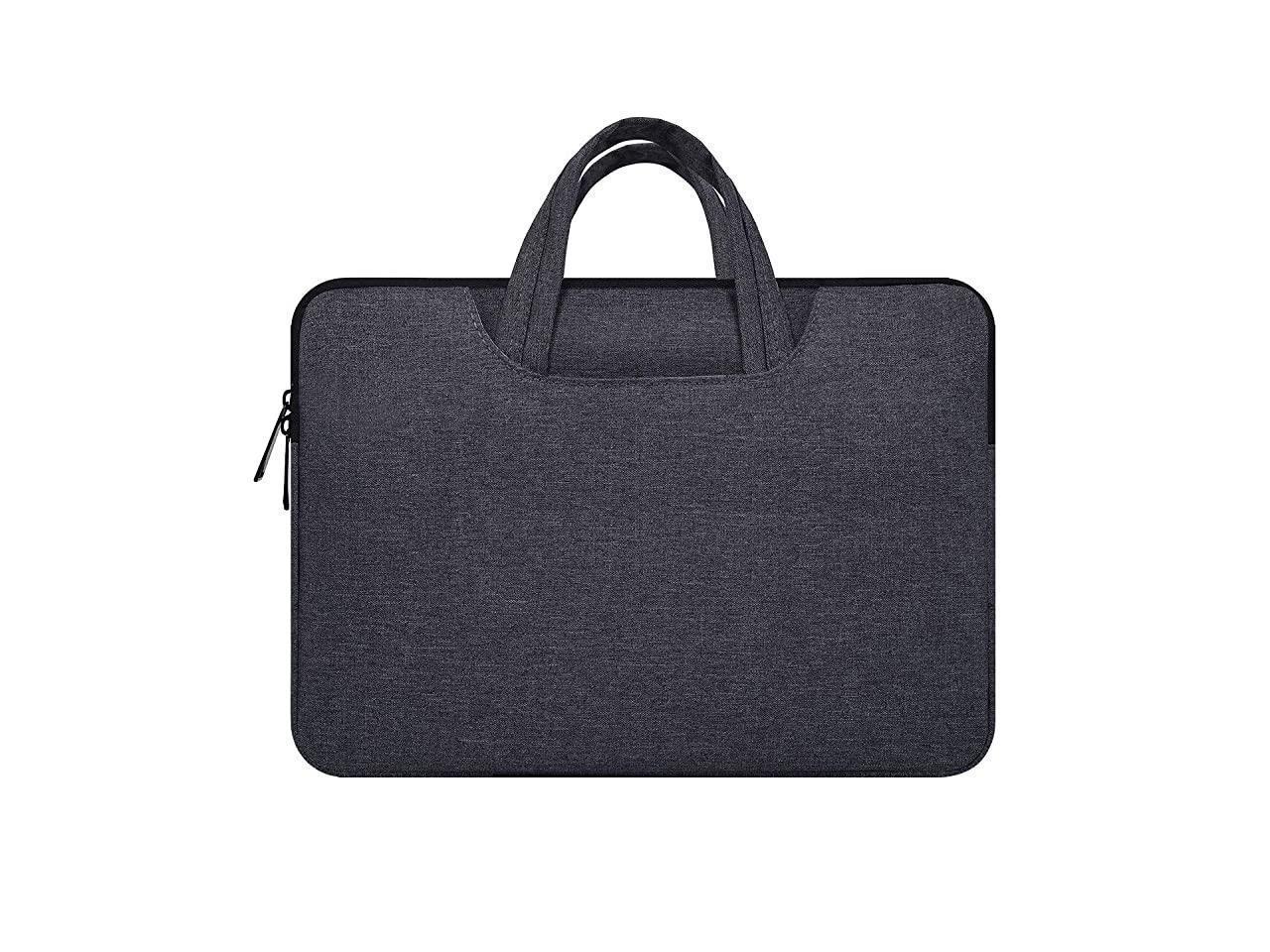 15.6 Inch Laptop Bag,Laptop Sleeve Case for HP Pavillion//HP Premium//HP Envy x360 15.6,Lenovo Ideapad 330,Lenovo Yoga 720//730 15.6,Acer Aspire 5//Acer Aspire E 15 with Handle Sleeve Bag Space Grey