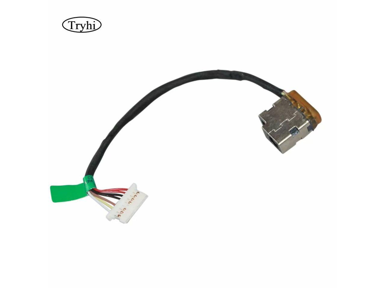 New Laptop AC DC Power Jack plug in charging port Socket Connector with Cable Harness For HP 240 246 250 255 G4 G5 799736-S57 799736-T57 799736-F57 799736-Y57