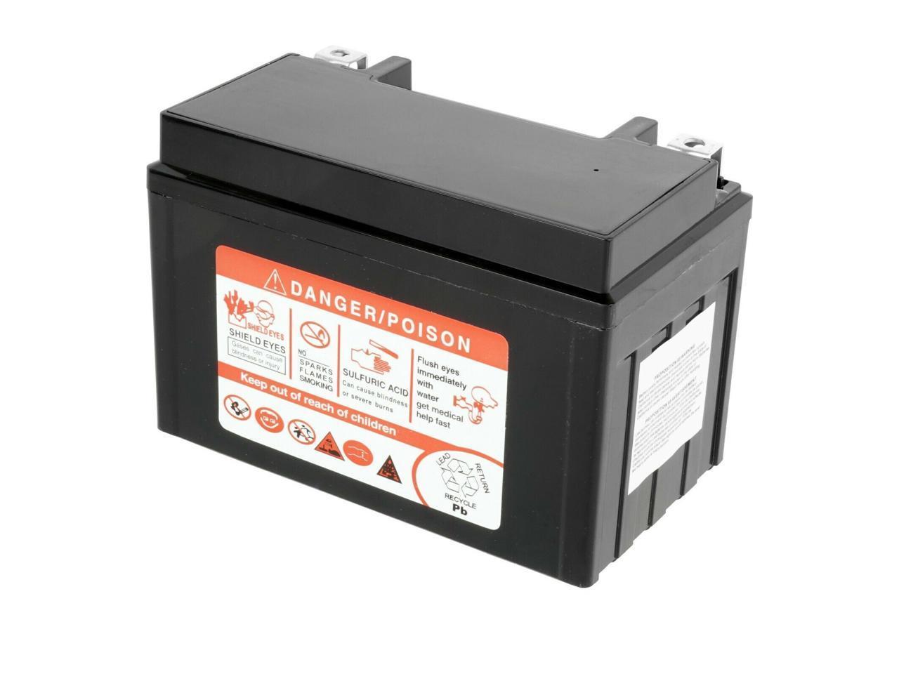 TR200 Fat Cat 200 1986 Caltric AGM Battery for Honda NT650 Hawk 650 1988-1991