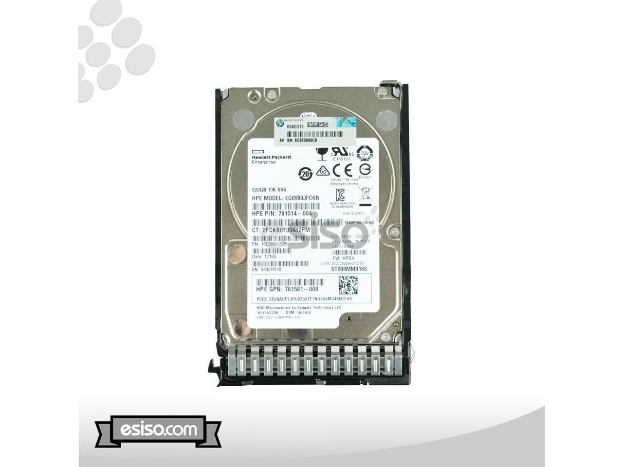 2.5 - INCH SC Enterprise HARD D 785069-B21 NUOVA BULK HP 900GB 12G SAS 10K RPM SFF