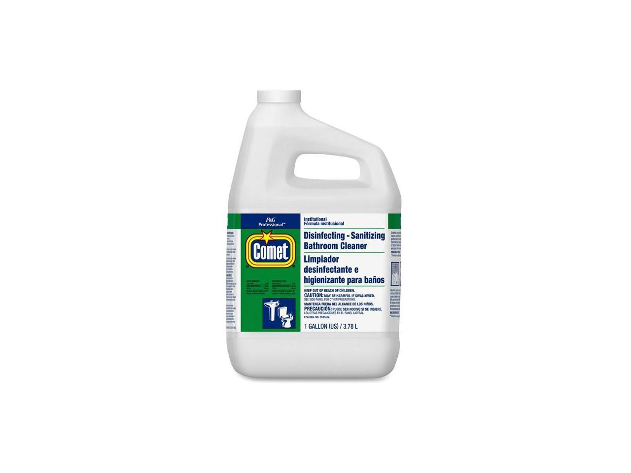 Procter Gamble 1106 Comet Professional Line Liquid Disinfectant Bathroom Cleaner 3 Bottles Per Carton Newegg Com
