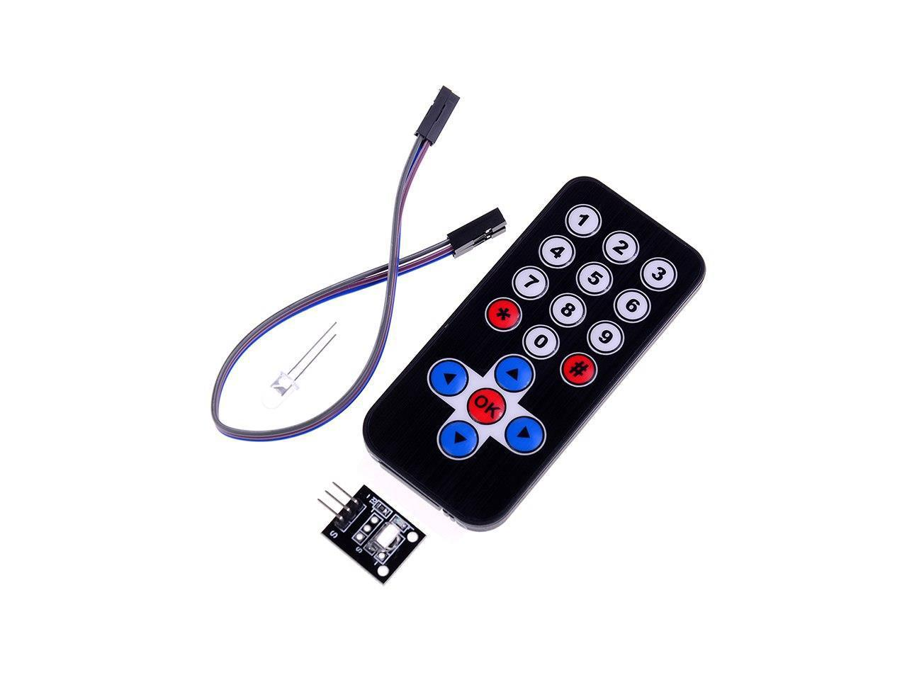 Smart electronics infrared ir wireless remote control module kits for arduiRDUK