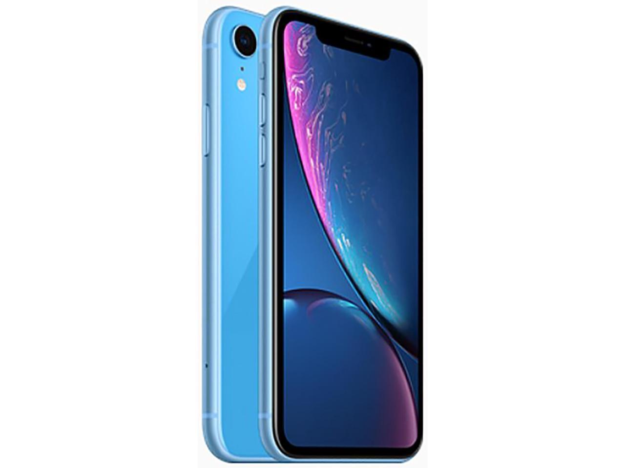 Apple iPhone Xr 64GB Unlocked GSM 4G LTE Phone w/ 12MP Camera - Blue