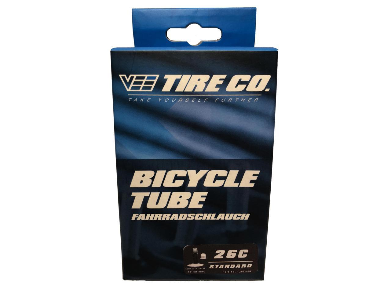 2 Vee Rubber 26x2.00 Bike Tire Bicycle Inner Tube Schrader Valve Stem