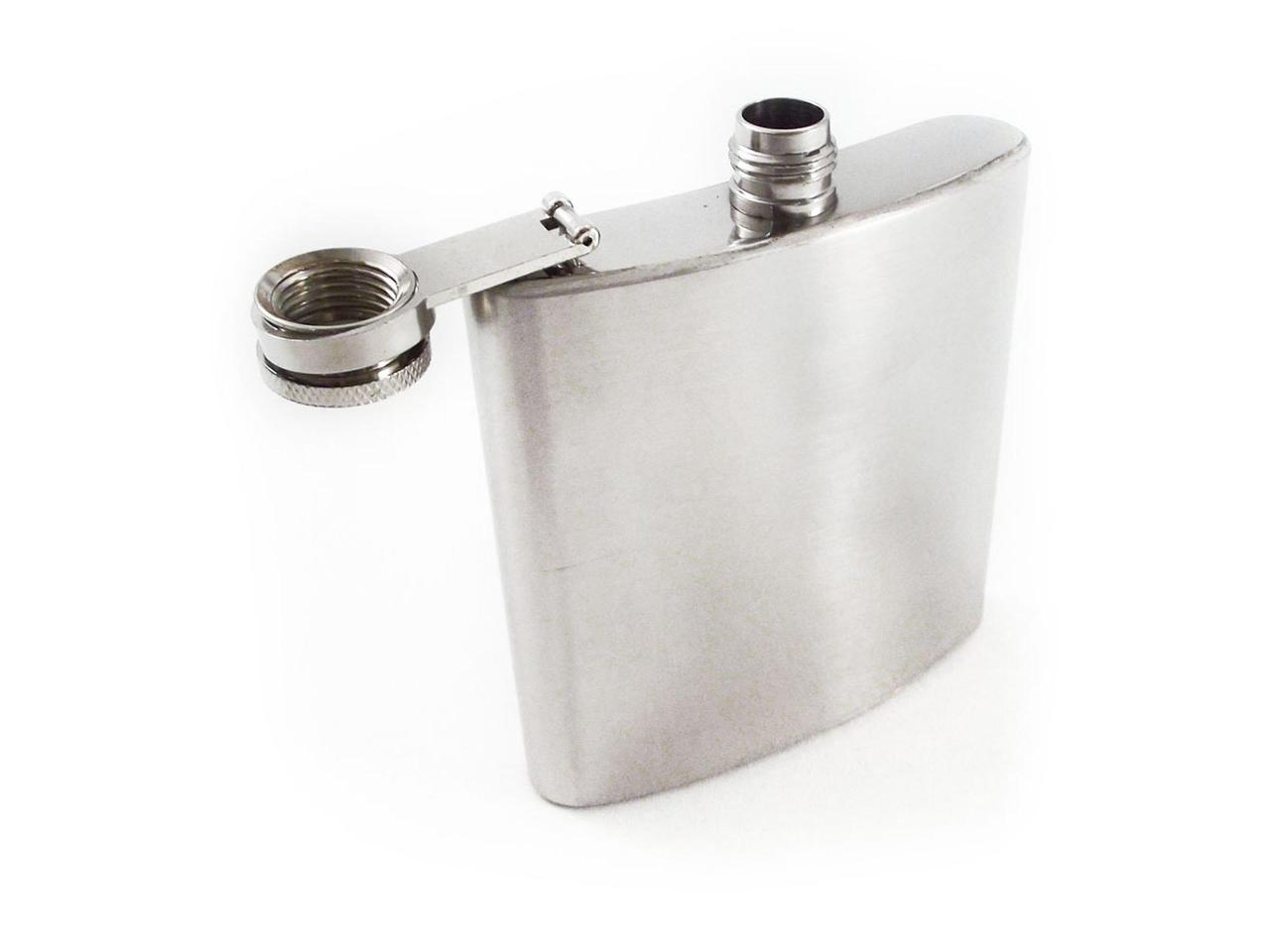 Russia High Grade Hip Flask 230ml//8oz Stainless Steel Flagon Whiskey Bottle