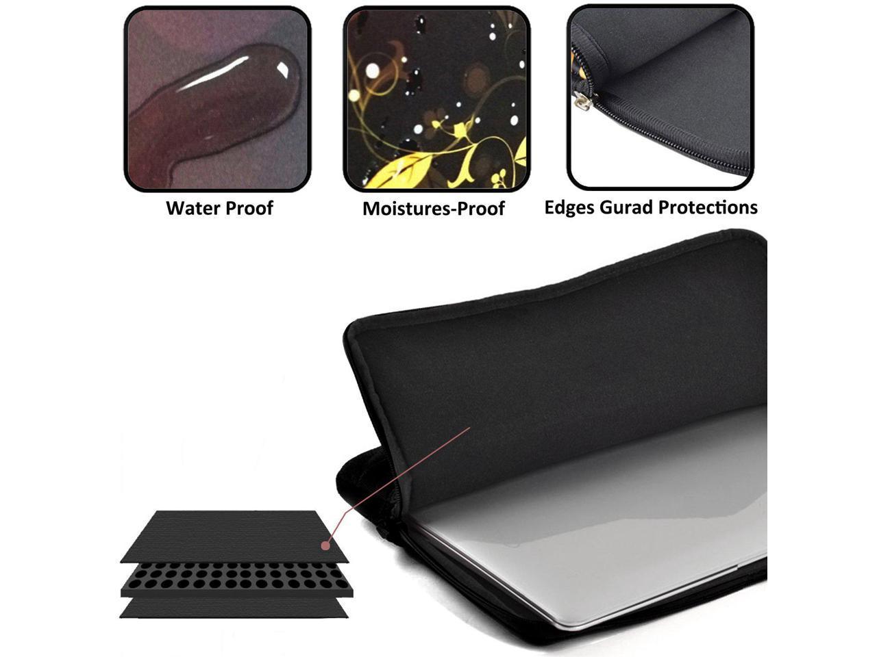 Xxh 13Inch Laptop Sleeve Case Surrealism Neoprene Cover Bag Compatible IPad Pro