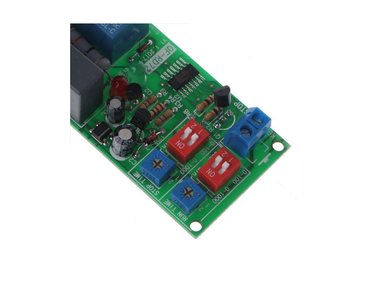 AC110V 120V 220V 230V LED Time Cycle Delay Switch Timer Relay Turn ON//OFF Module