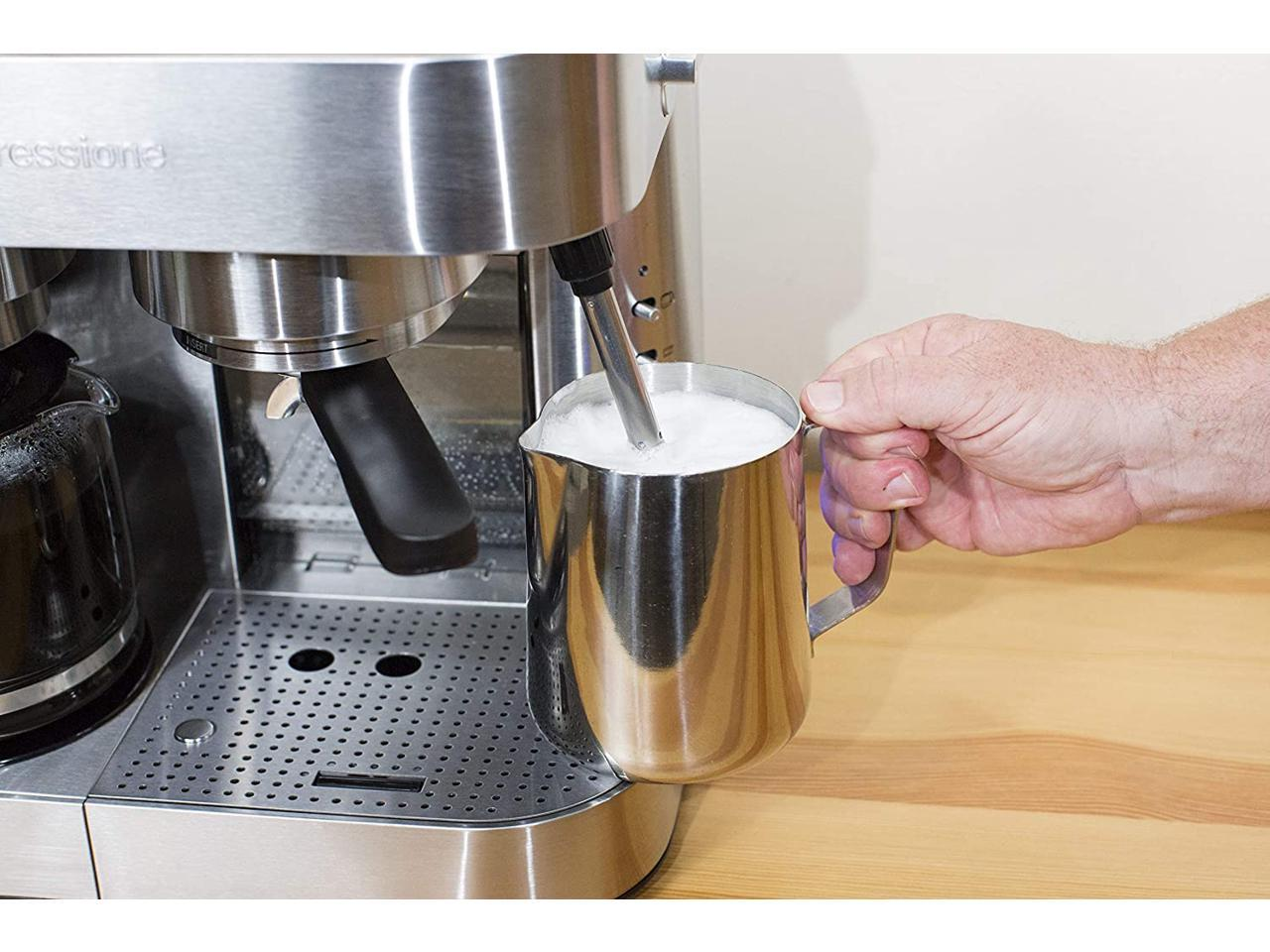Espressione Stainless Steel Series Espresso Maker 10 Cup Coffee Maker Stainless Steel Newegg Com