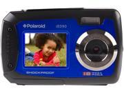 "Polaroid 18 MP Dual Screen Digital Camera 2.8"" Rear / 1.8"" Front Screen - Blue"