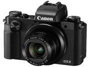 Canon PowerShot G5 X Black 20.2 MP 4.2X Optical Zoom 25mm Wide Angle Digital Camera