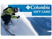 $100 Columbia Sportswear Gift Card Email Delivery Deals