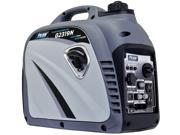 Pulsar G2319N 2,300W Portable Gas-Powered Inverter Generator with USB Outlet & ...