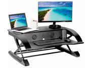 VIVO Elegant Height Converter Sit Stand Monitor Riser 36-in