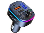 TROPRO Bluetooth 5.0 FM Transmitter for Car Deals