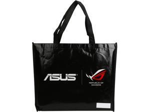 Newegg/ASUS Shopping Bag, Non Woven, Black