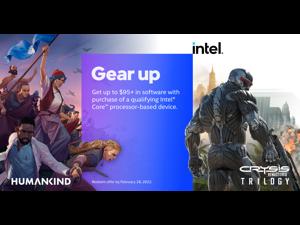 Intel 2021 Holiday Game Bundle (Crysis Remastered Trilogy & Humankind)