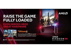AMD Radeon Q418 RAISE THE GAME FULLY LOADED Game Bundle