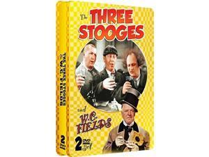 THREE STOOGES & W C FIELDS 1930-1949 (DVD/2 DISCS)-NLA!