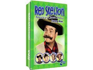 RED SKELTON-AMERICAS CLOWN PRINCE FUNNY MAN (DVD) (2DVD TIN)  NLA