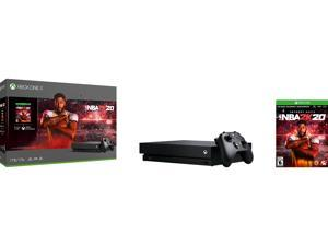 Microsoft Xbox One X NBA 2K20 Bundle (1TB) - Kinect, Game Pad Supported - Wireless - 3840 x 2160 - 2160p - MPEG-2, - Octa-core (8 Core)