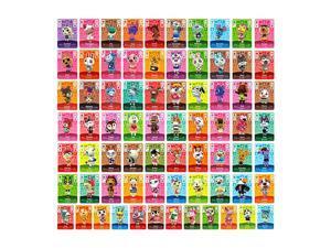 Animal Crossing - New 72Pcs Full Set NFC PVC TAG Mini Cards for Switch AMIIBO  WII U