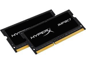 HyperX Impact 16GB (2 x 8GB) 204-Pin DDR3 SO-DIMM DDR3L 2133 (PC3L 17000) Laptop Memory Kit Model HX321LS11IB2K2/16