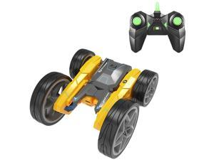 RC Stunt Cars for Kids, 360° Spins & Flips 180° Swing Rotating Car, Double Sided Rotating Tumbling 3D Deformation Dance Car