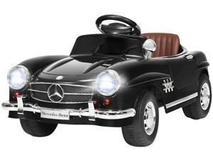 Black Mercedes Benz 300SL AMG RC Electric Toy Kids Baby Ride on Car