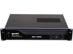 GEMINI XGA-4000 4000W PRO POWER AMPLIFIER