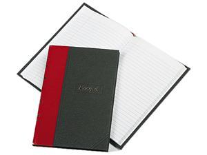 Boorum & Pease Record/Account Book Black/Red Cover 144 Pages 5 1/4 x 7 7/8 96304