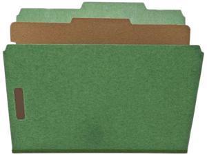 """Nature Saver Classification Folders 2""""Exp. 1 Dvdr Letter 10/BX GN SP17203"""