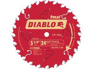 """Freud D0524X 5-3/8"""" 24T Diablo™ Trim Saw Blade"""